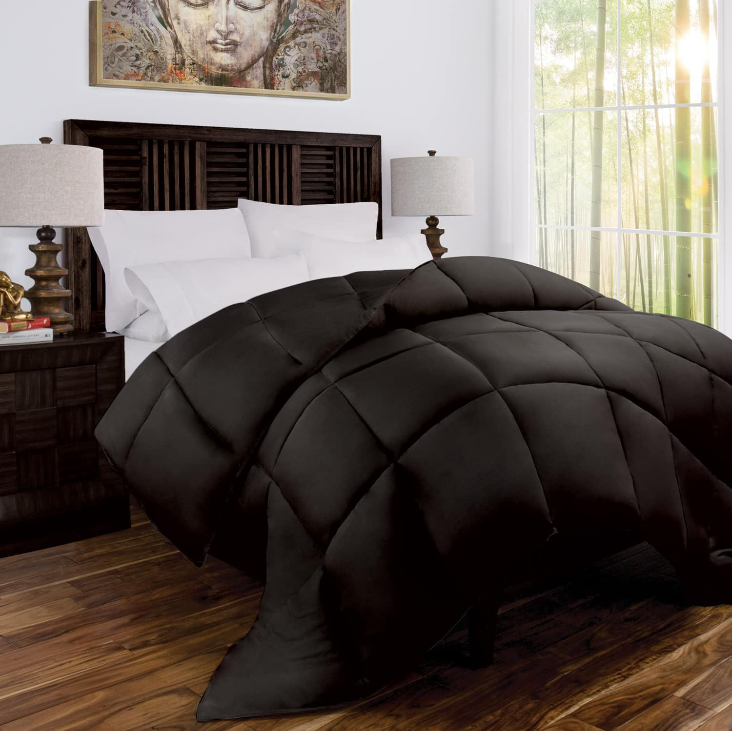 100% Rayon From Bamboo Goose Down Alternative Comforter Starting at $44.45 + Free Shipping
