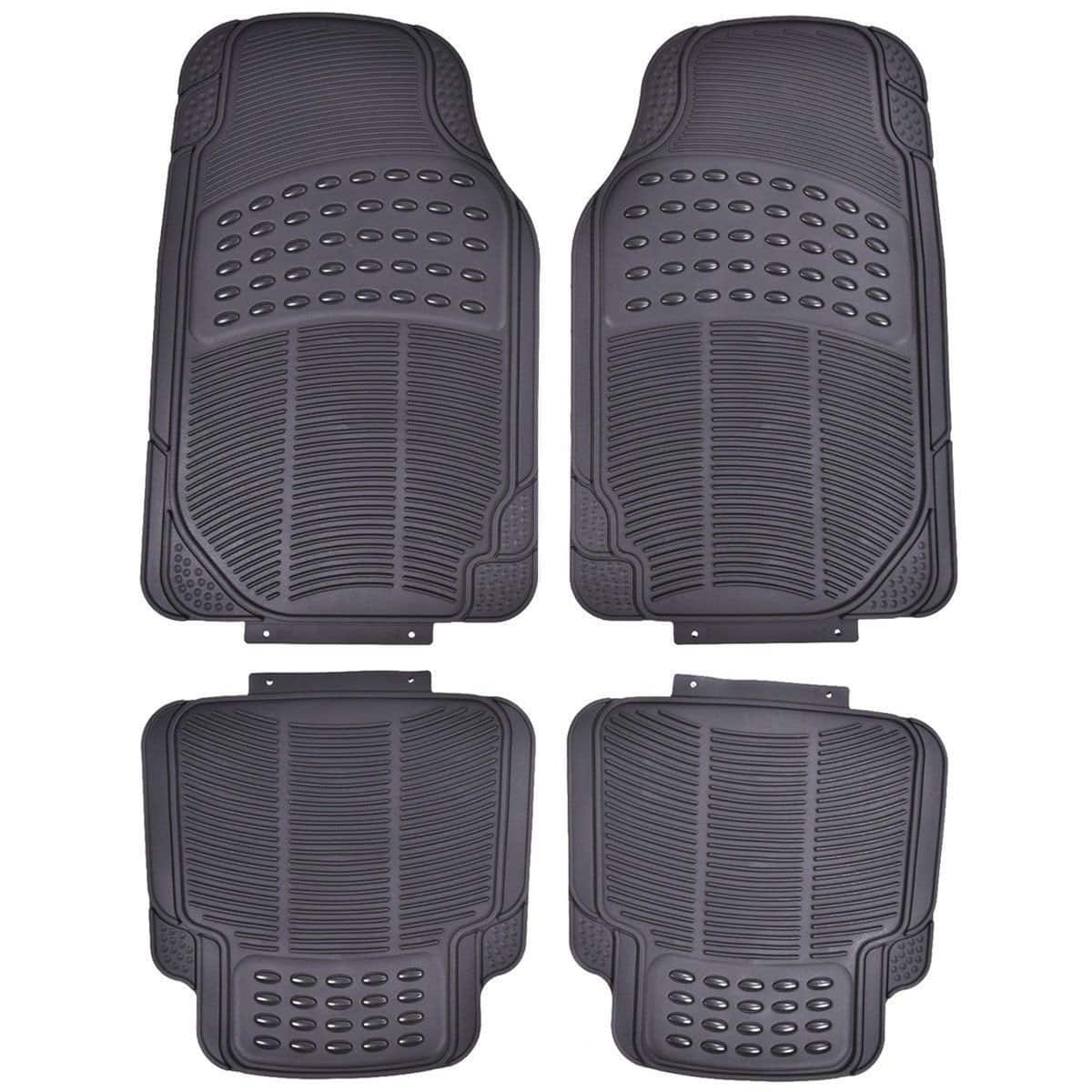 Costway 4-Piece Cargo Front & Rear Floor Mat All Weather Heavy Duty Universal Cars Protection - $5.00 + Free Shipping