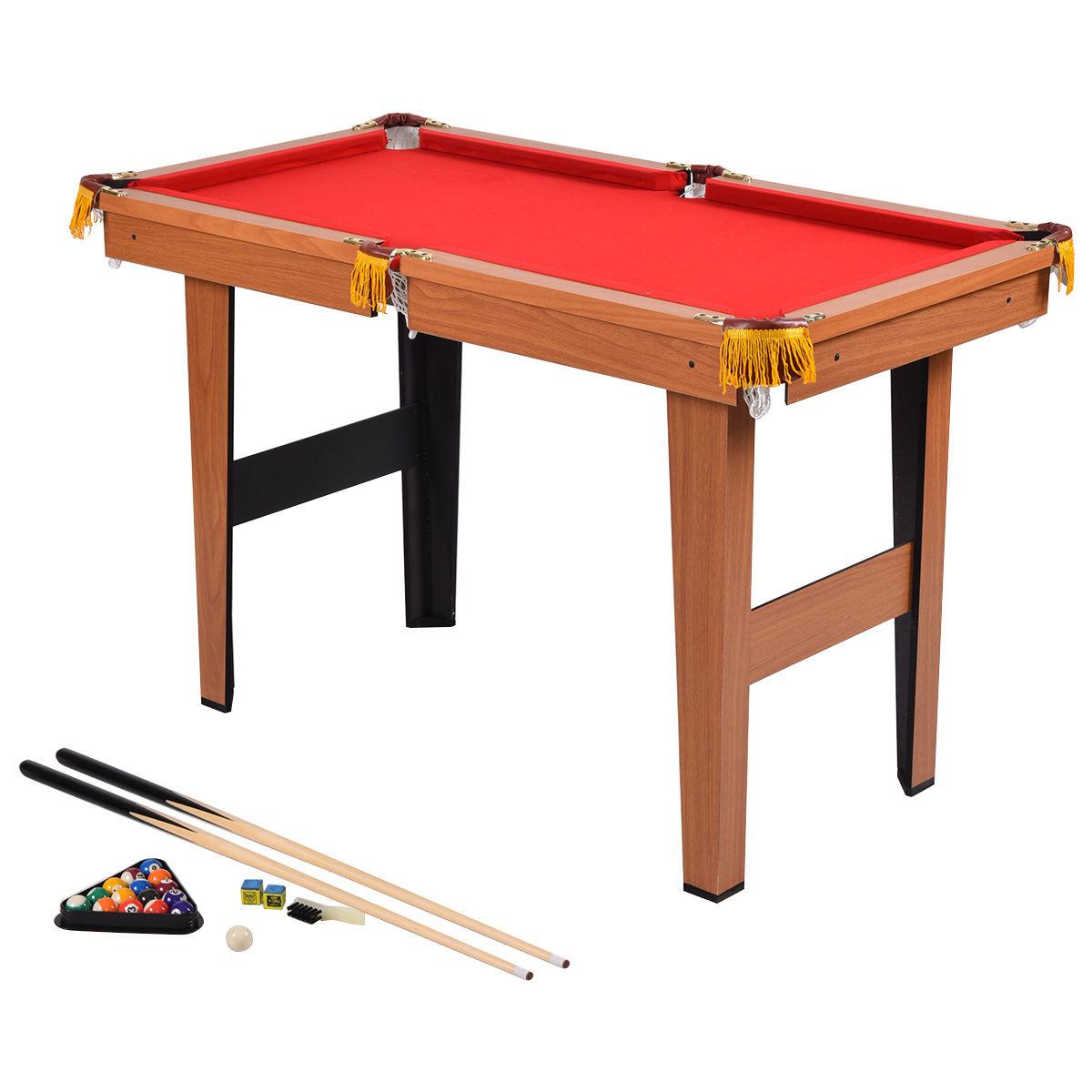 """Costway 48"""" Mini Table Top Pool Table Game Billiard Set - $90.95 + Free Shipping"""