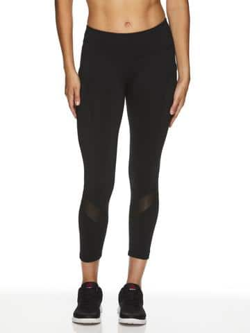 Reebok Women's Aspire Capri Leggings - $9.93 + Free Shipping