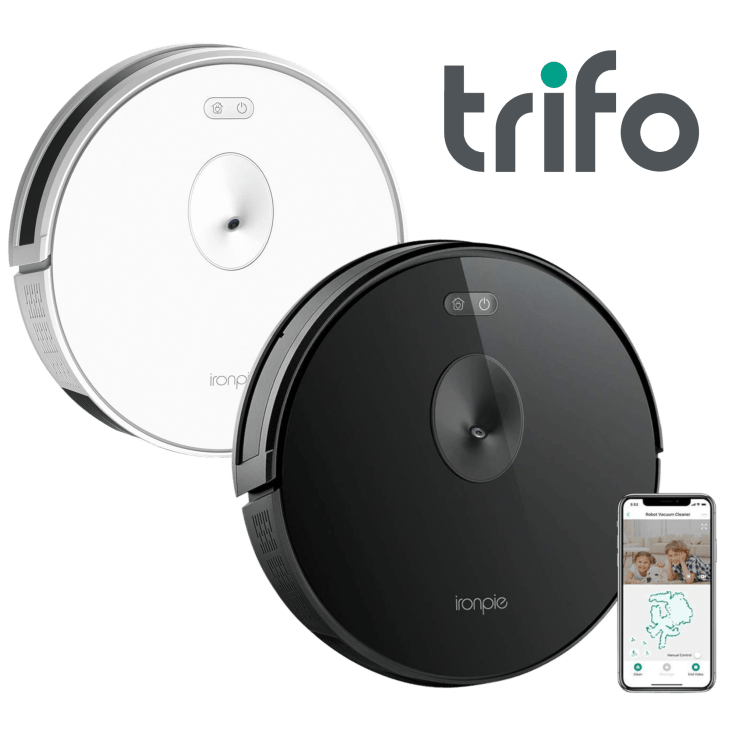 Trifo Ironpie M6 Live Streaming Visual Navigation Robotic Vacuum Cleaner - $149 + Free Shipping