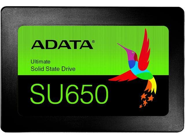"""ADATA SU650 2.5"""" 120GB SATA III 3D NAND Internal SSD $15.99 + FS"""