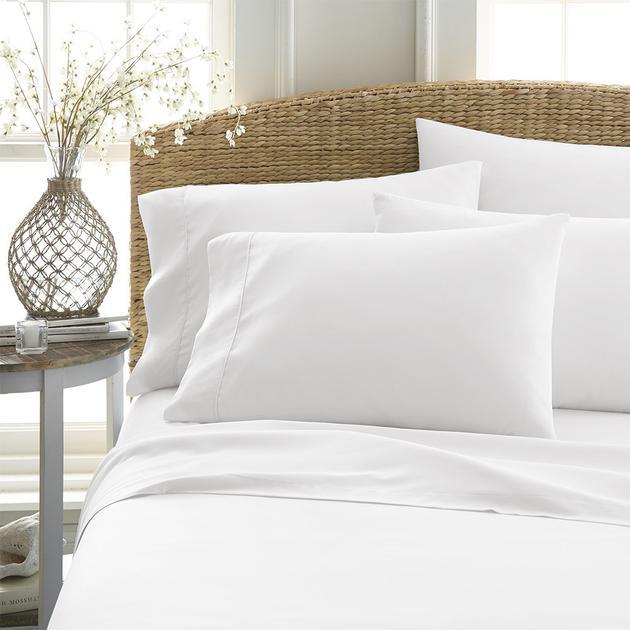 Linens & Hutch 4-Piece Ultra Soft Sheet Set + 2 Bonus Pillowcases: Starting at $19.11 + FS