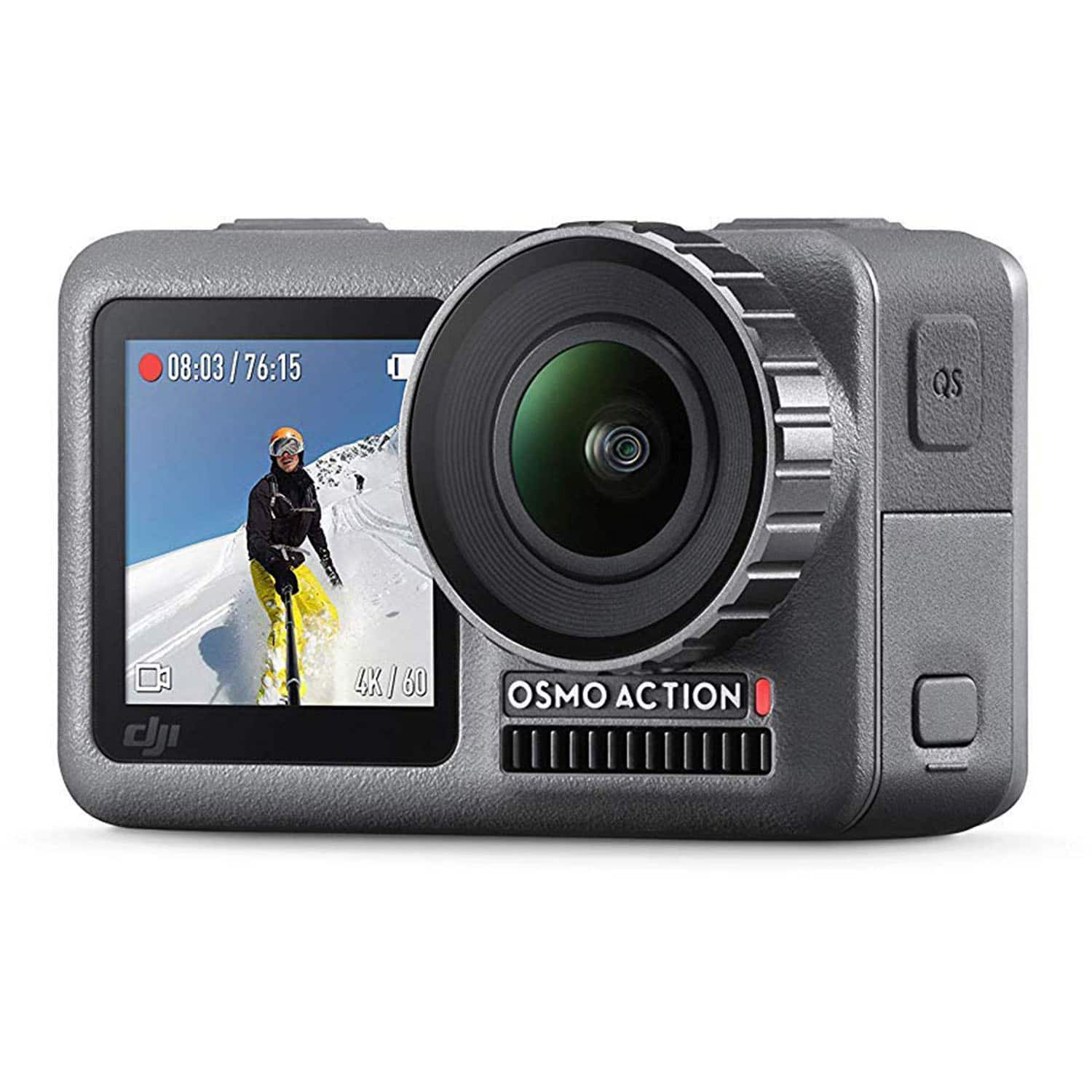DJI OSMO Action 4K HDR Cam Digital Camera with 2 Displays 36FT/11M Waterproof - $231.2 + Free Shipping