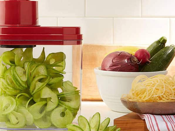 Wolfgang Puck 3-in-1 Electric Power Spiralizer $16