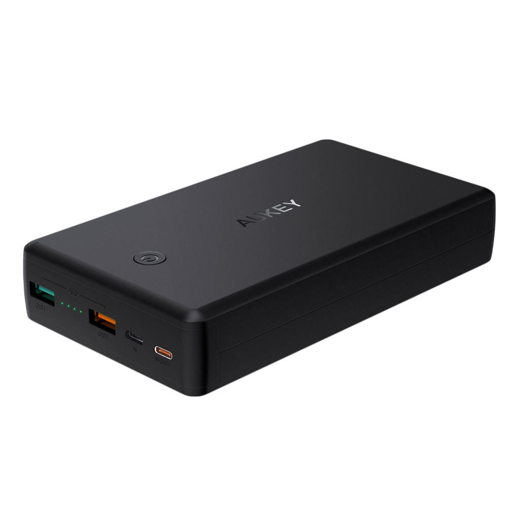 AUKEY 30000mAh Power Bank with 30W Power Delivery & Quick Charge 3.0 for $50 + Free Shipping