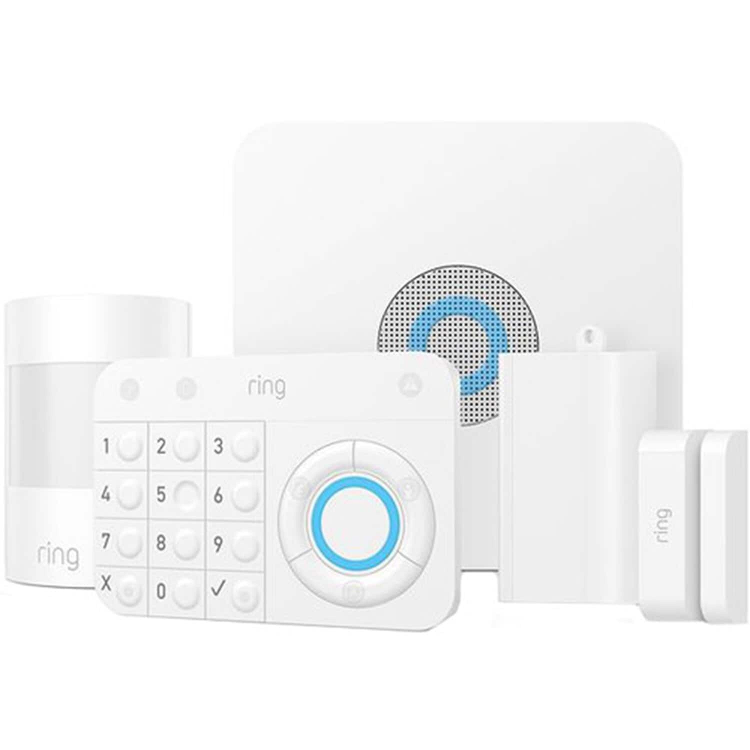 Ring Spotlight Cam Battery Wire Free HD Security Camera - $109.95 & Ring Alarm 5 Piece System -$94.99 + FS