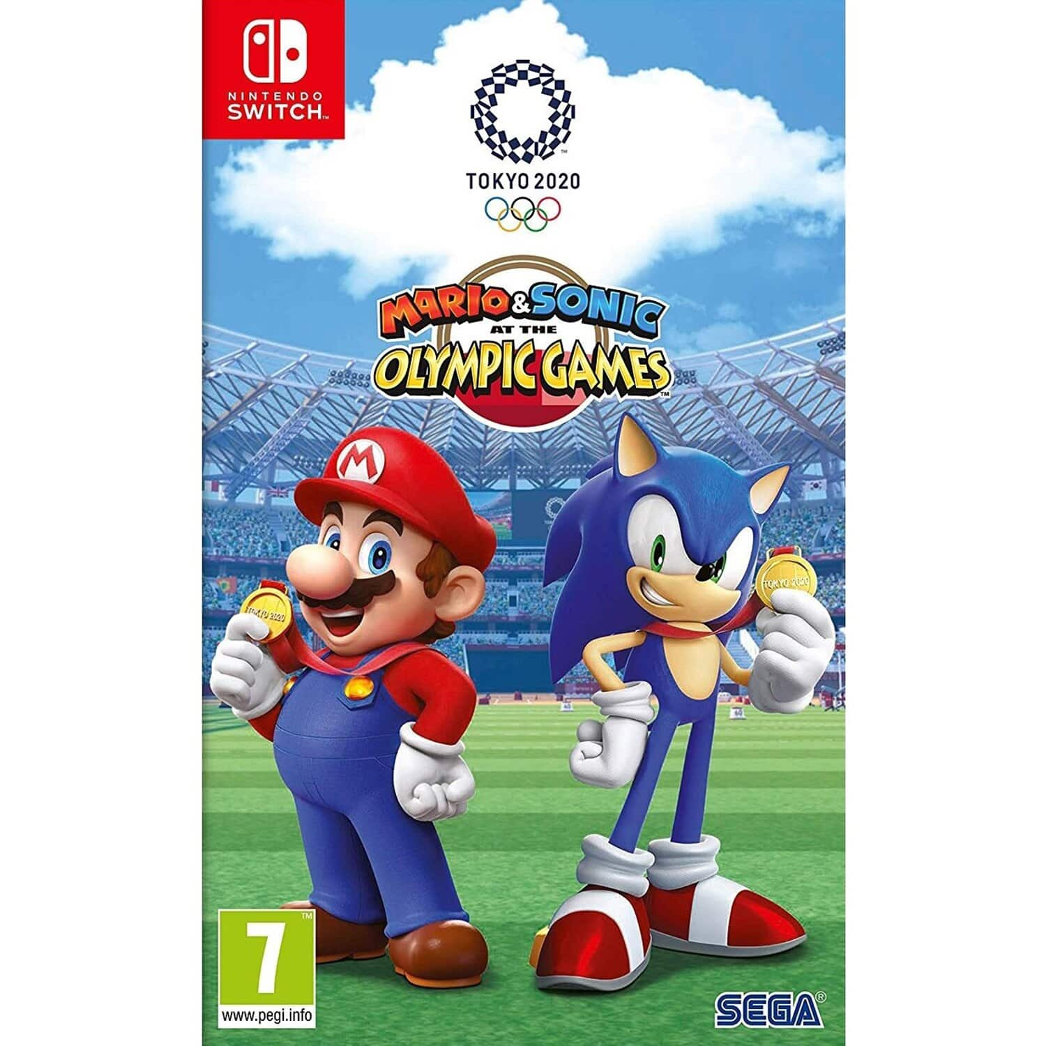 Mario & Sonic at the Olympic Games Tokyo 2020 (Switch) / Legend of Zelda Link's Awakening (Switch) $53.75 + $10.60 RSP Back + FS