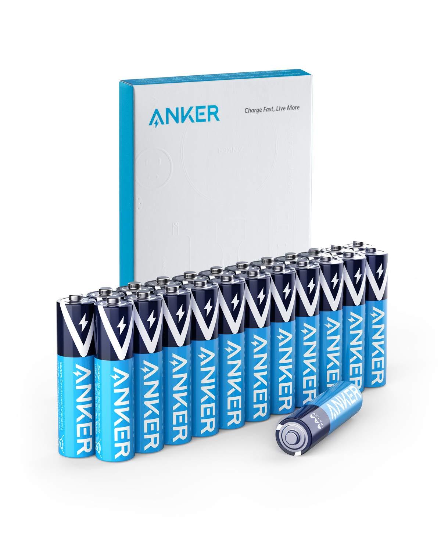 Anker Alkaline AAA Batteries (24-Pack) $6.99 + FSSS