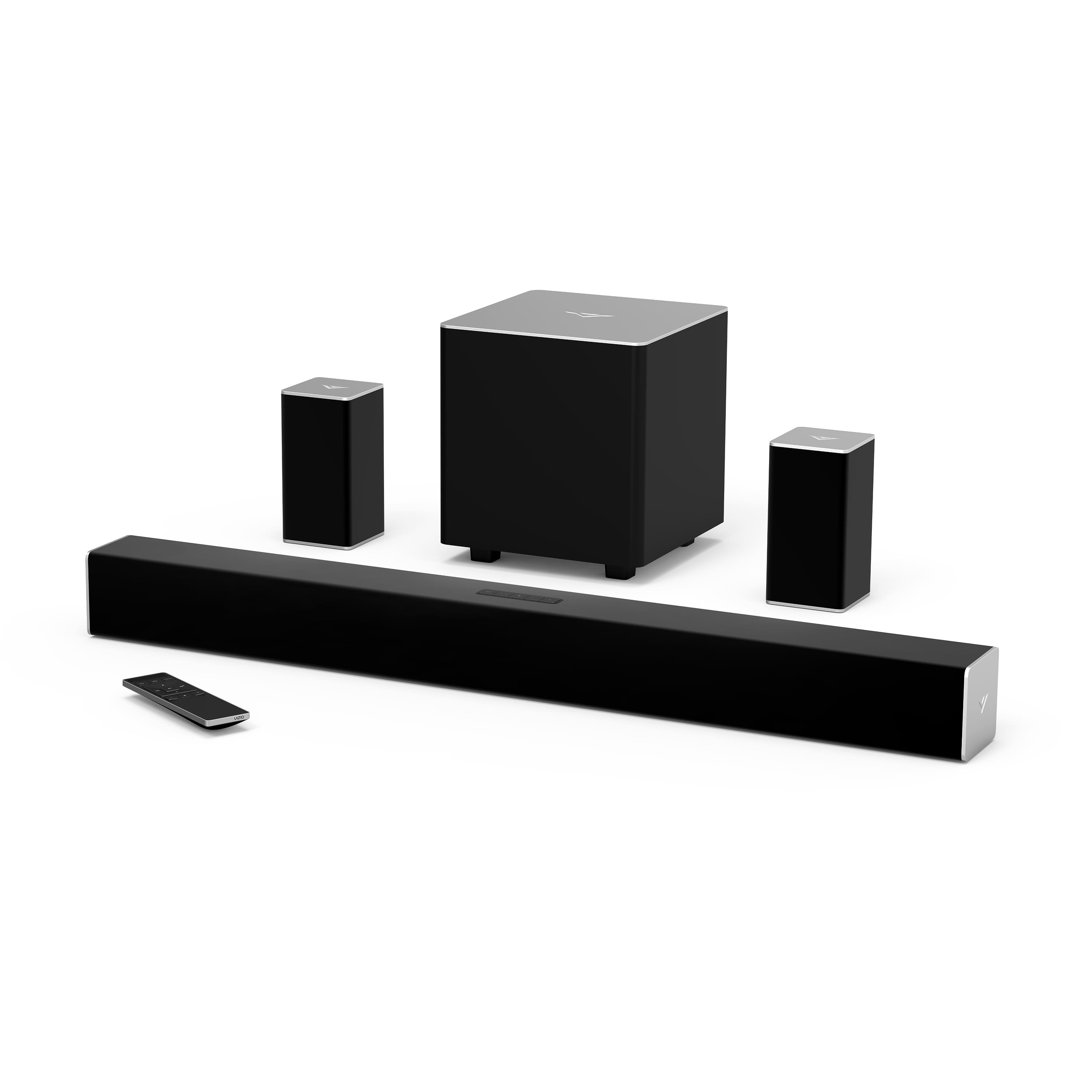 """VIZIO 32"""" 5.1 Channel Soundbar System with Wireless Subwoofer and Rear Speakers (SB3251n-E0) for $148 + FS"""
