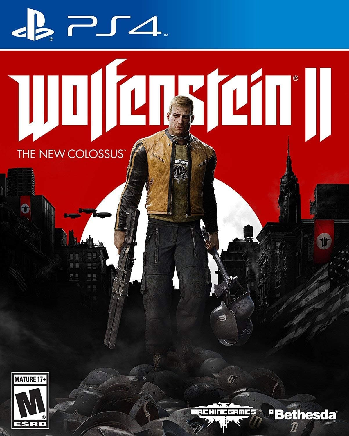 Wolfenstein II: The New Colossus - PlayStation 4 or Xbox One for $14.99 + FSSS