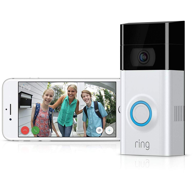 Ring Video Doorbell 2  - $121.95 + 20% ($24.20) in Rakuten Points + Free Shipping