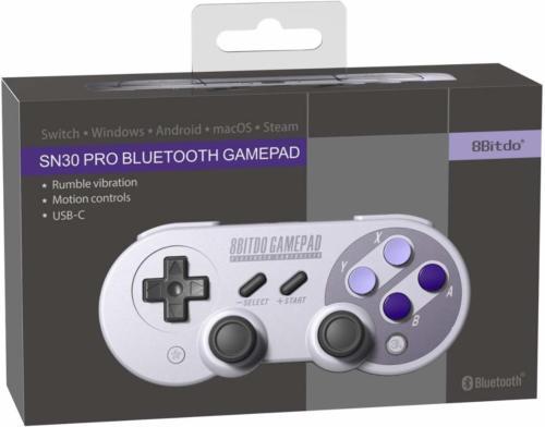 8bitdo SN30 Wireless Pro Gamepad Controller $35 + Free Shipping (eBay Daily Deal)