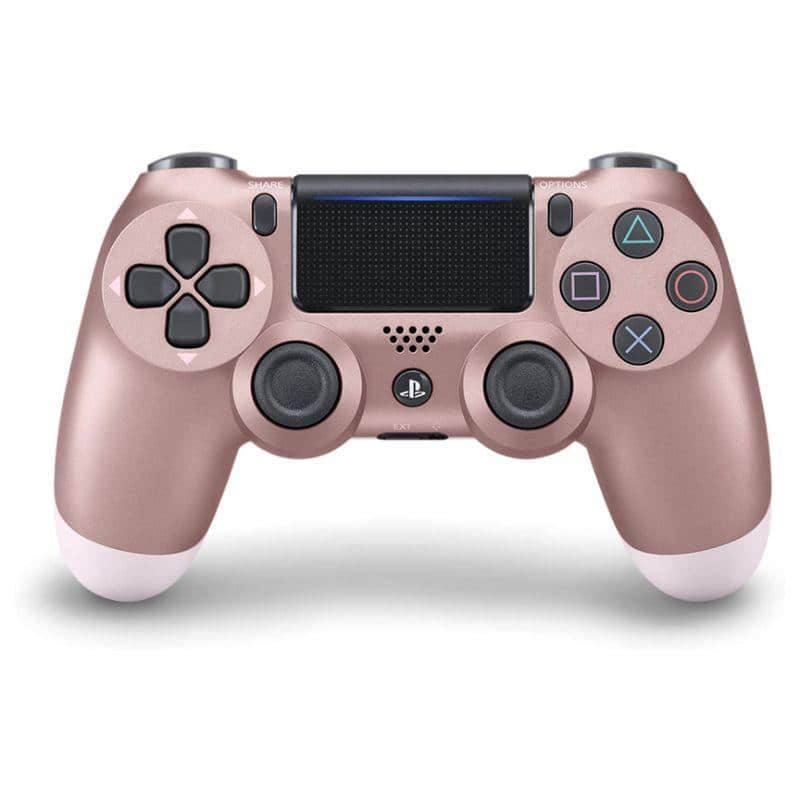 Sony PS4 Dualshock 4 Wireless Controllers - Steel, Glacier, Titanium, Rose Gold, Purple $34.99 ; Black, Gold, Red $29.99 + FS