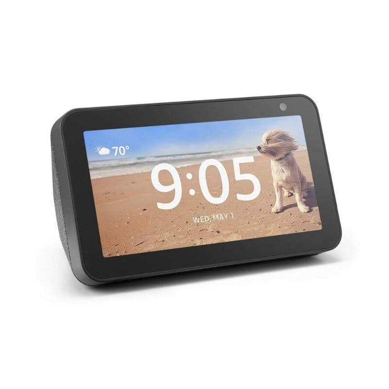 Echo Show 5 – Compact Smart Display with Alexa - Charcoal $44.99 + FS