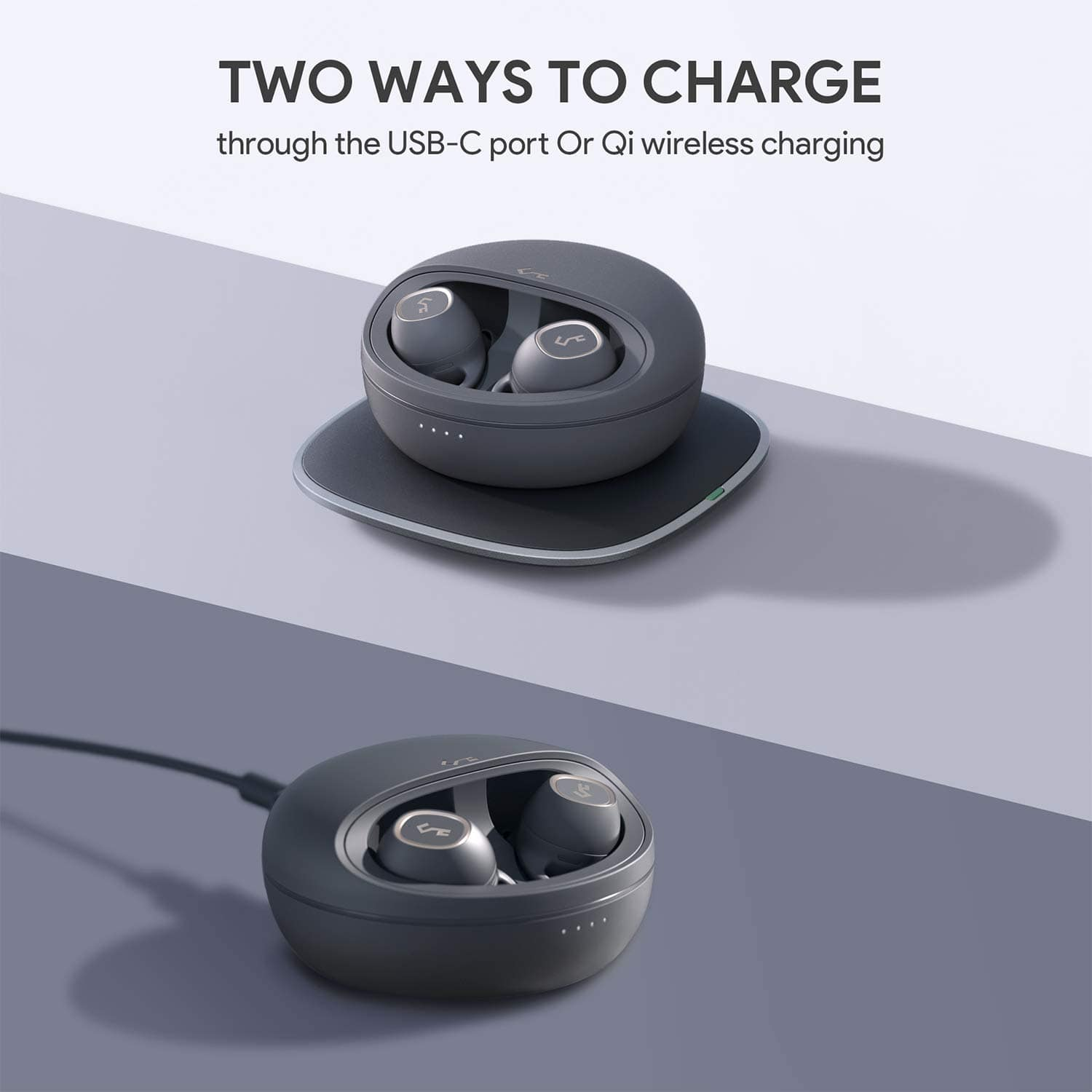 AUKEY Key Series T10, Wireless Earbuds $71.99 (or less $57.79 new customers)