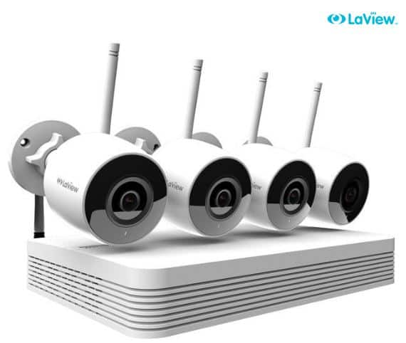 LaView Wi-Fi Wireless 1080P IP Camera Security System $149.99 + FS