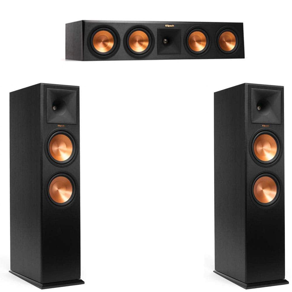 Klipsch Reference Premier Discounts: RP-280F for $449.99 (single), $899.98 (pair), RP-450C for $449.99, and RP-250S for $259 + FS