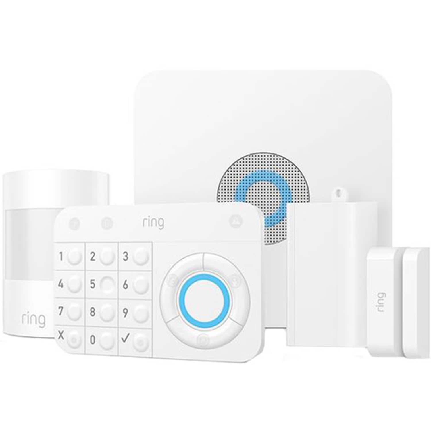 Ring 5-Piece Alarm House Security Kit (White) - $107.99 After 20% New Customers Coupon + Free Shipping