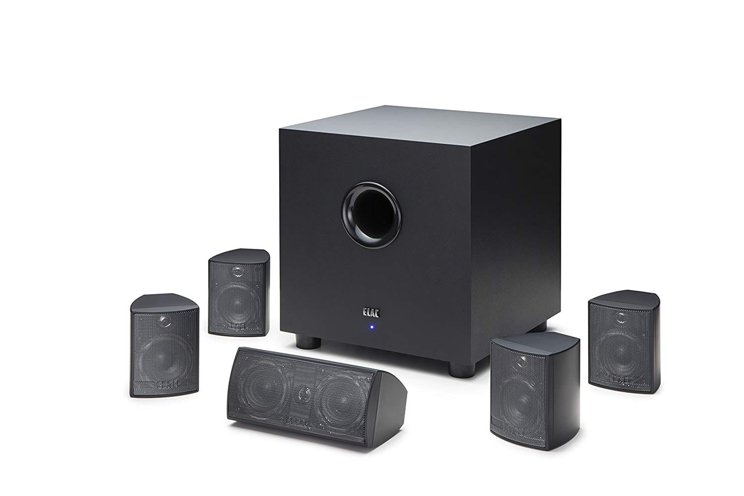 ELAC 5.1 Channel Home Theater System (HT-C131W-K) $139 + FSSS