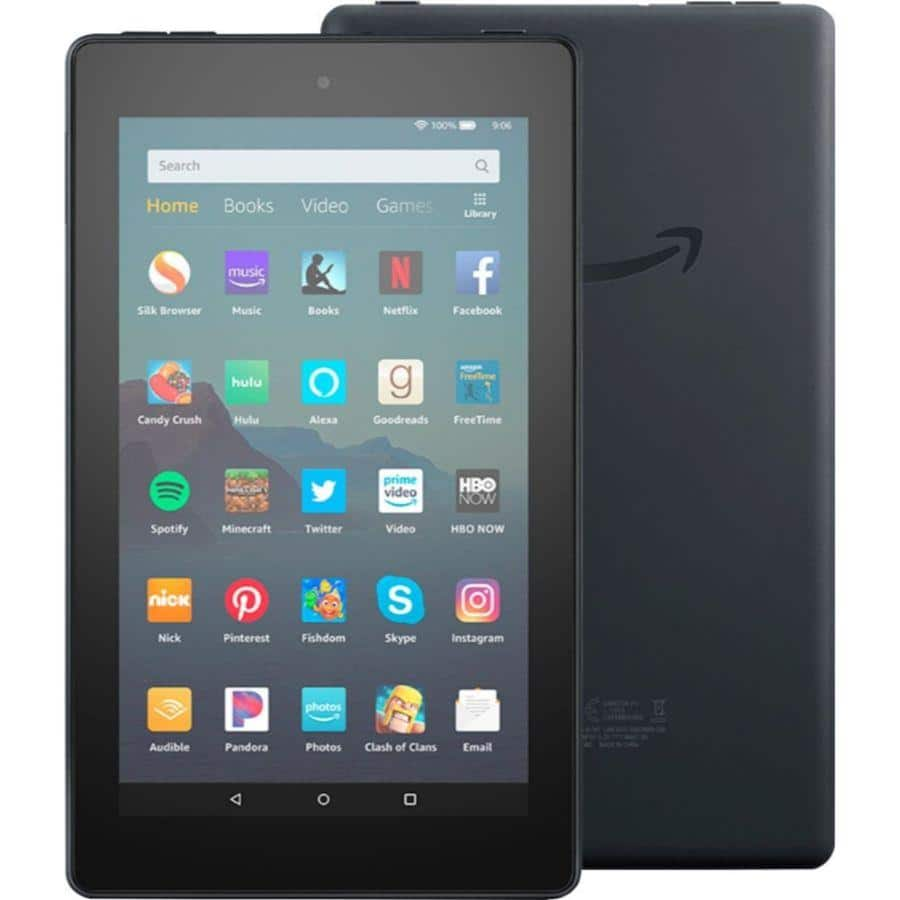 "Fire 7 Tablet (7"" display, 16 GB) with Special Offers  - $29.99 + FS"