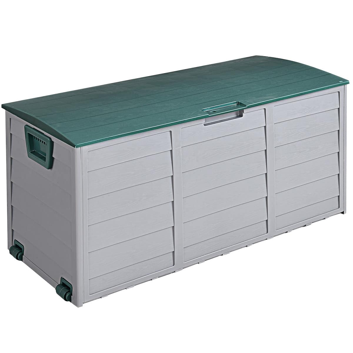 Costway 70-Gallon Durable Outdoor Plastic Storage Box-$47.95 + Free Shipping
