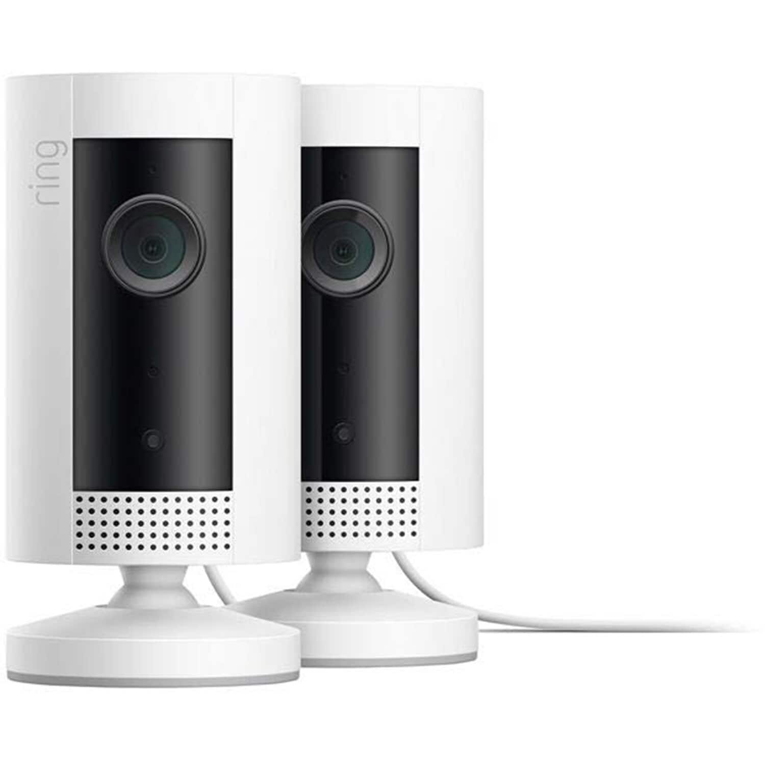 (2-Pack) Ring Indoor Cam Plug-In HD Security Cameras $99 + ($14.85) in Rakuten Points + FS