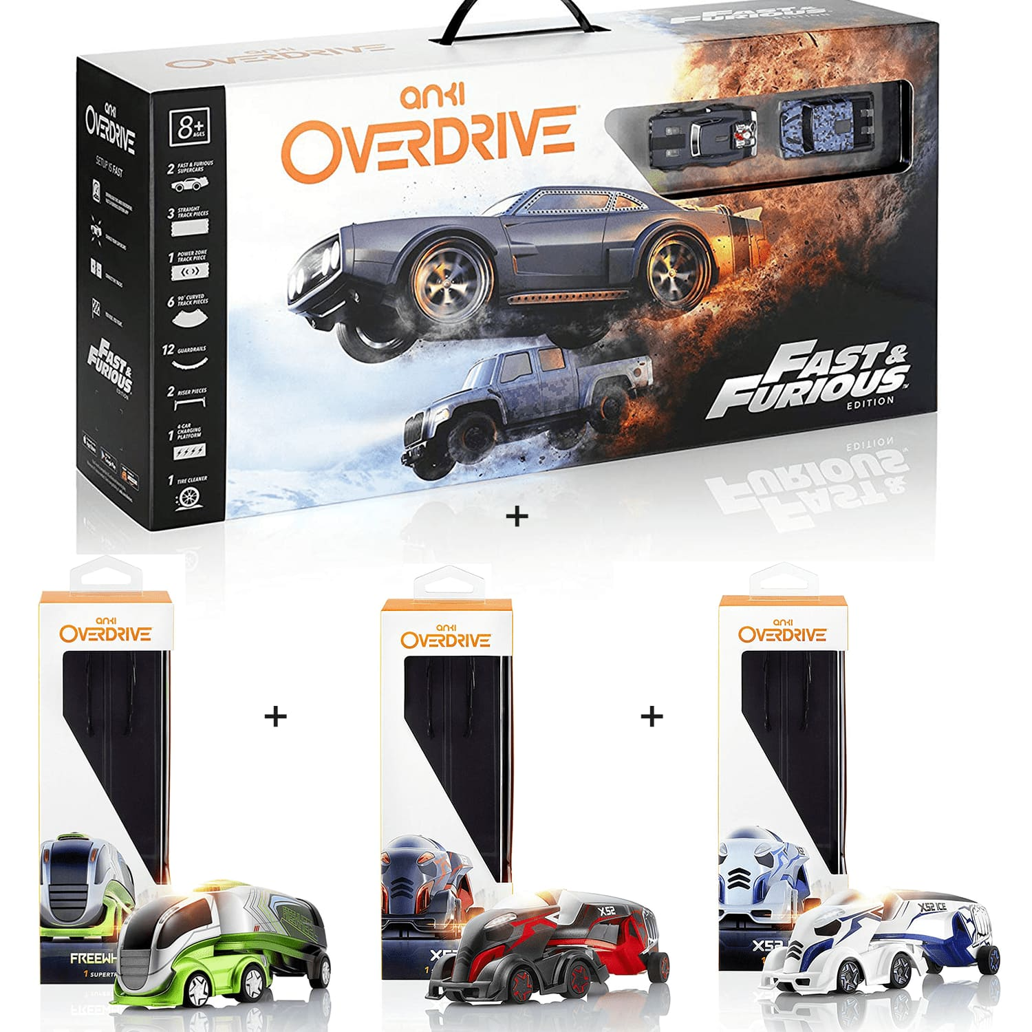 Anki Overdrive Fast & Furious Edition + 3 Supertrucks Bundle for $74.95 + ($11.24) in Rakuten Points + Free Shipping