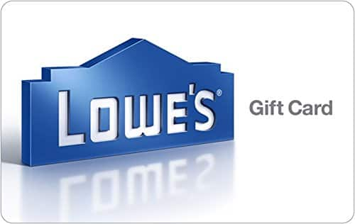Bonus $10 Swych Gift Card with a $100 Lowe's GC