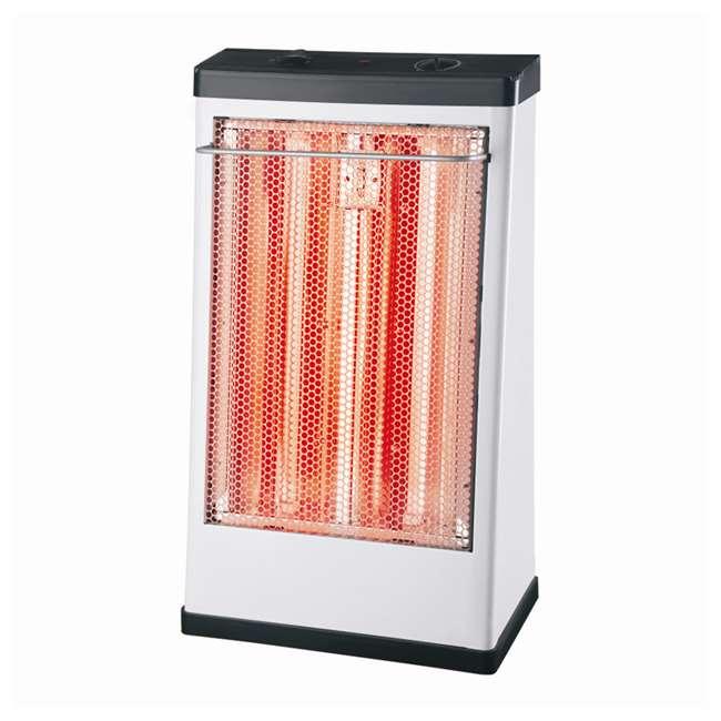 LifeSmart FH-1500 1500 Watt 2 Setting Radiant Quartz Utility Infrared Space Heater $24.99 + FS $25