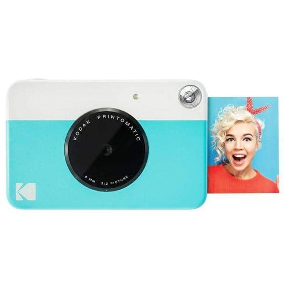 Kodak PRINTOMATIC Digital Instant Print Camera - Blue $36.99 + FS