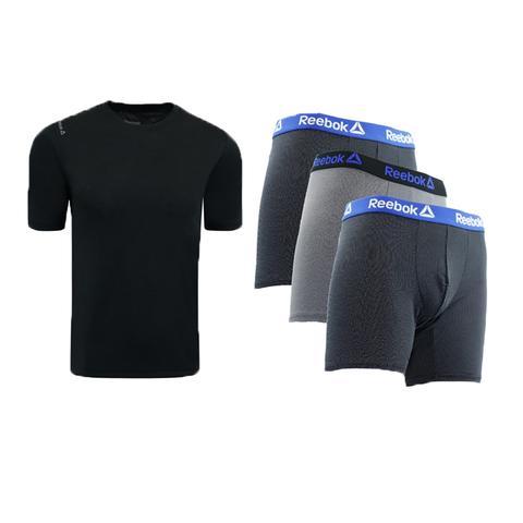 Reebok Men's T-Shirt & Boxer Briefs Combo Pack - $25 + Free Shipping