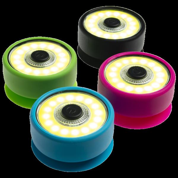 4-Pack COB LED Magnetic Suction Puck Lights $12 + FS