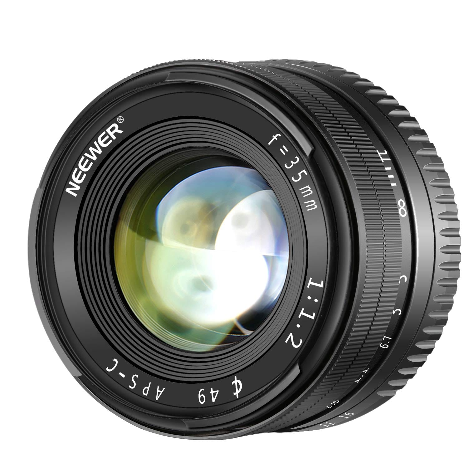 Neewer 35mm f/1.2 APS-C Manual Lens for Sony - $67.19 + FSSS