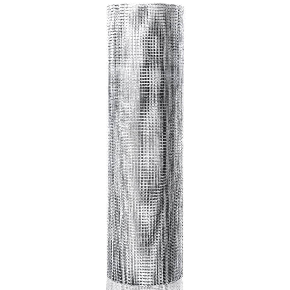 """Costway 48"""" x 50' 1/2inch Wire Fence Mesh Galvanized Cage Wire-$50.95 + Free Shipping"""