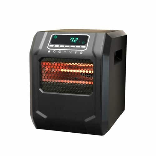 Lifesmart HT1188 4-Element Quartz Infrared Portable Large Room Space Heater $37.00 + FS