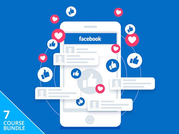 The Ultimate Facebook Marketing Certification Bundle (Lifetime Access) $7.25