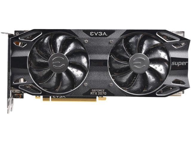EVGA GeForce RTX 2070 SUPER BLACK GAMING, 08G-P4-3071-KR, 8GB GDDR6 - $469.99 AR