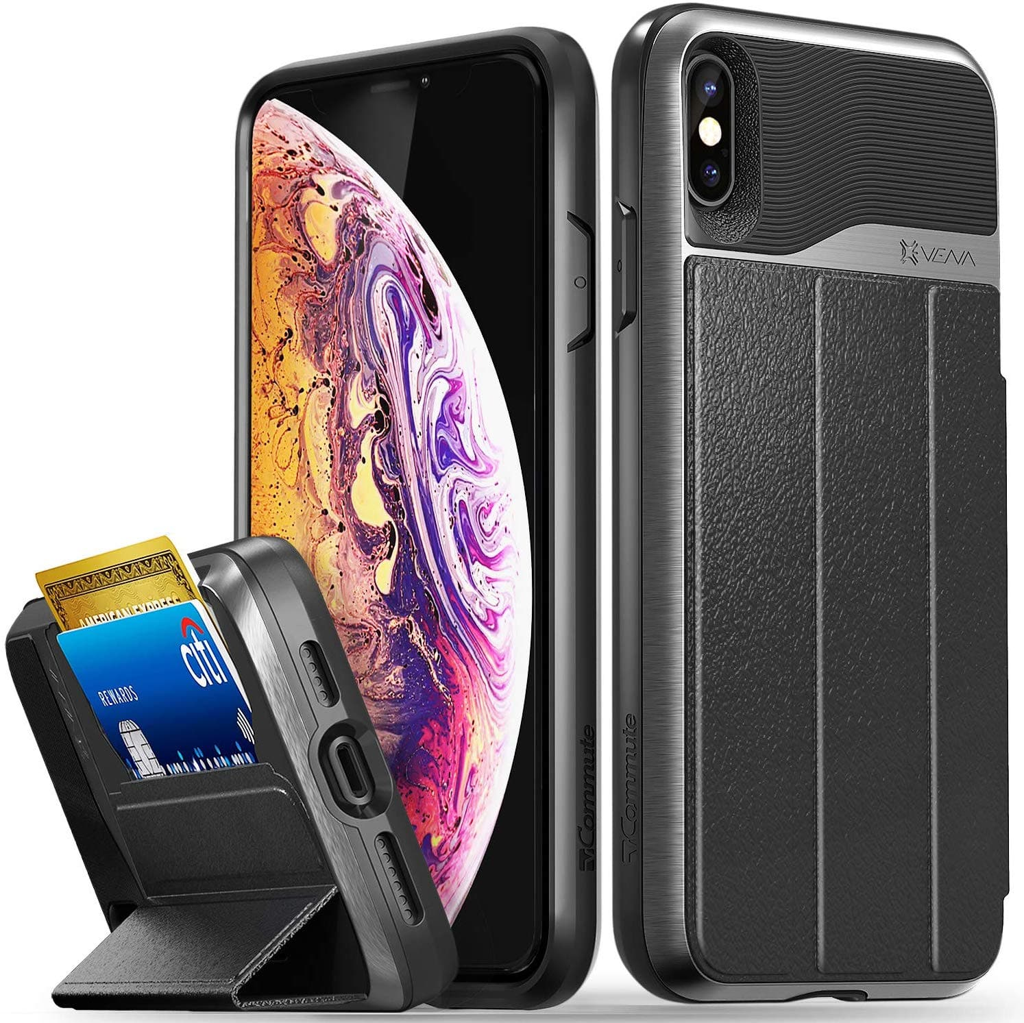 Vena iPhone 11, 11 Pro, 11 Pro Max, XR, Xs Max, Xs/X Phone Cases Starting at $2.04 + FS