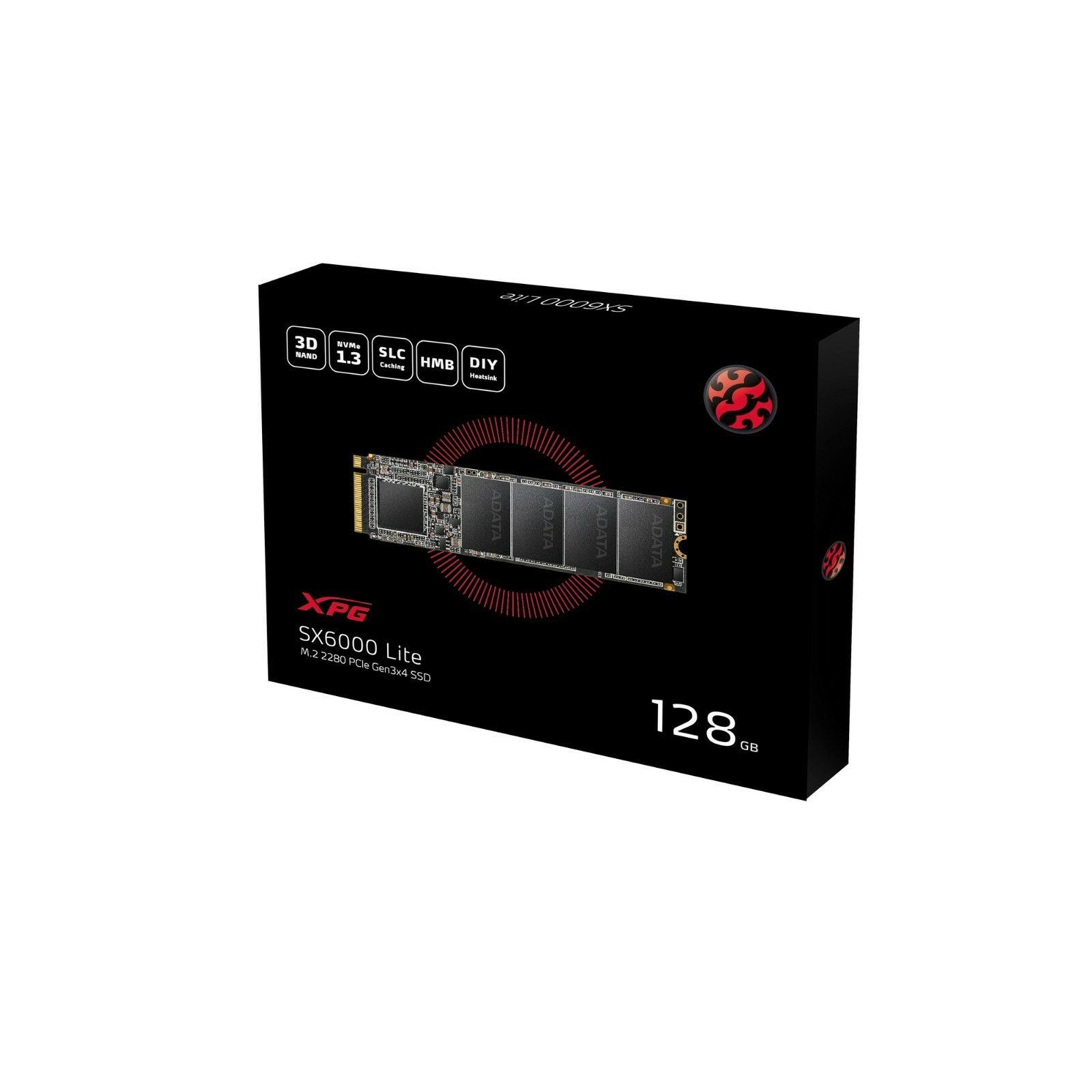 ADATA XPG SX6000 Lite M.2 2280 128GB PCIe NVMe Gen3x4 Internal SSD @ $25 + Free Shipping
