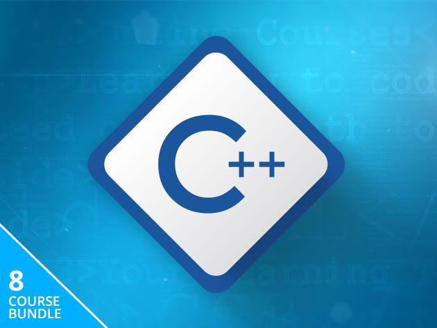 The Complete C++ Programming 8-Course Training Bundle (Lifetime Access) $8.50