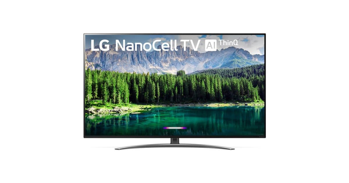 "LG 65"" Class Nano 8 Series 4K UHD NanoCell Smart TV 65SM8600PUA $749 + Free Shipping"