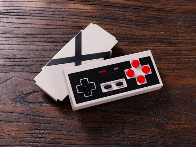 8BitDo N30 Retro Bluetooth Gamepad for $17