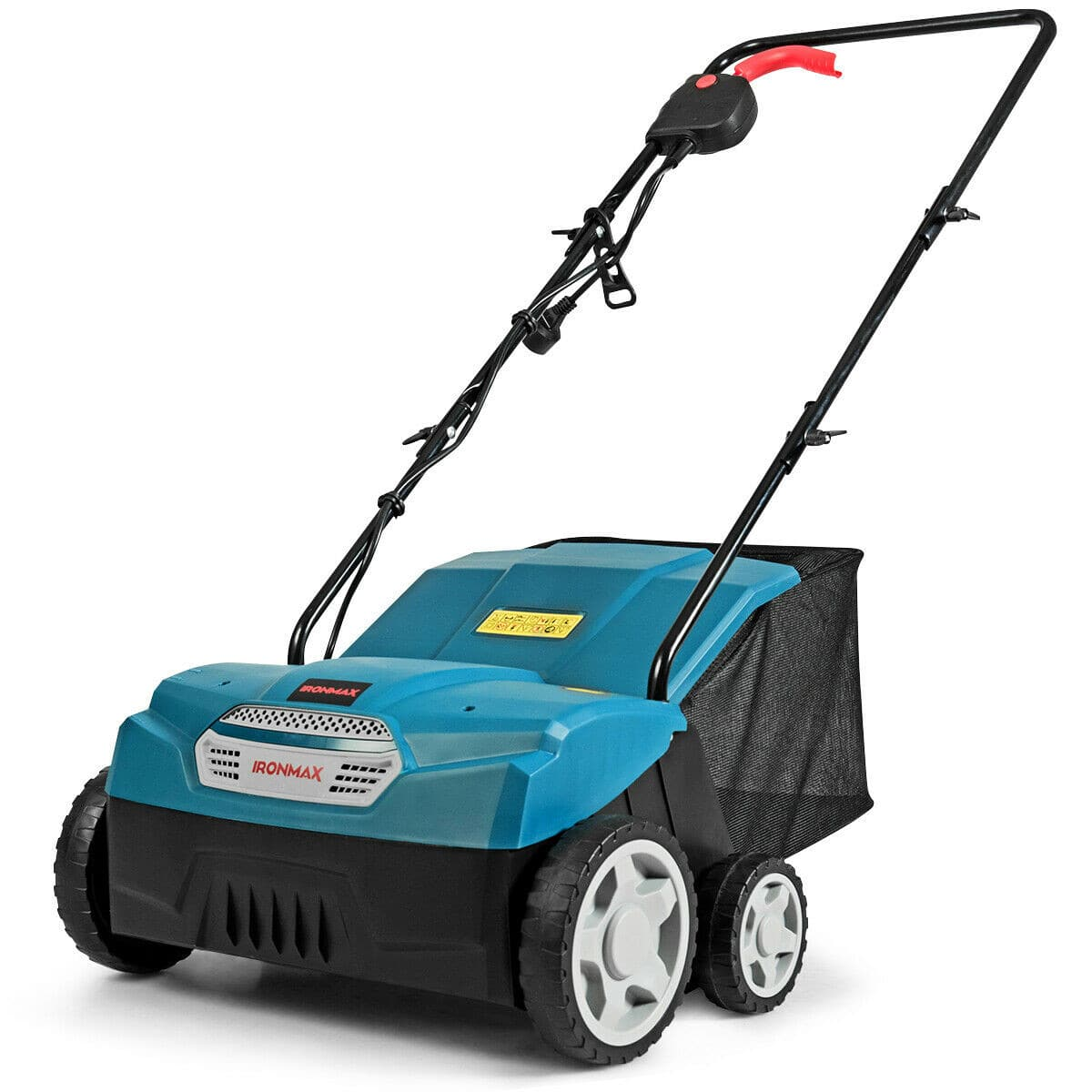 """Costway 1400 W 13"""" Electric Scarifier and Lawn Dethatcher with Collection Bag-$79.95 + Free Shipping"""