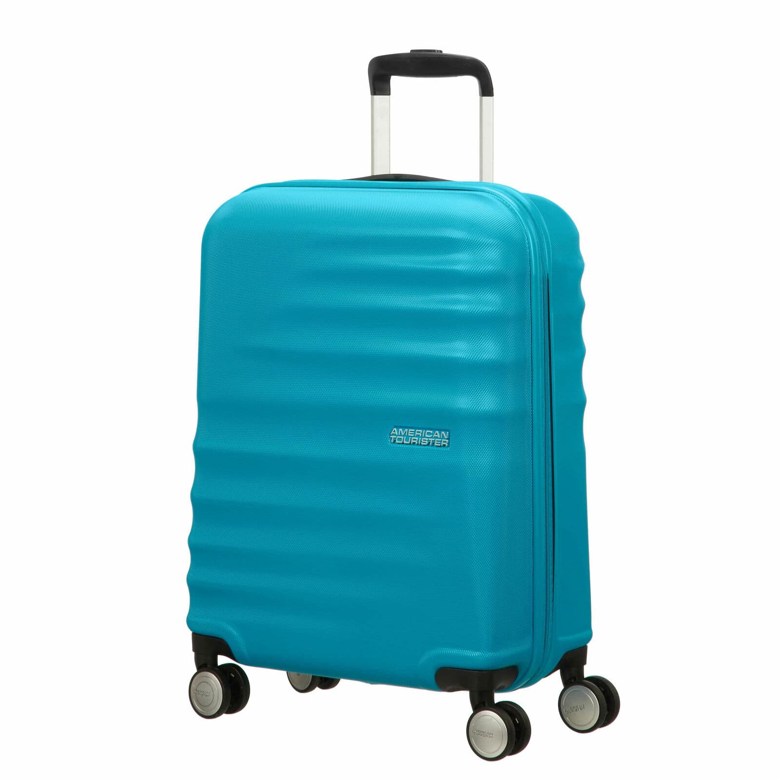 "28"" American Tourister Wavebreaker Spinner Luggage (Summer Sky or Hot Pink) for $49.99 + Free Shipping (eBay Daily Deal)"