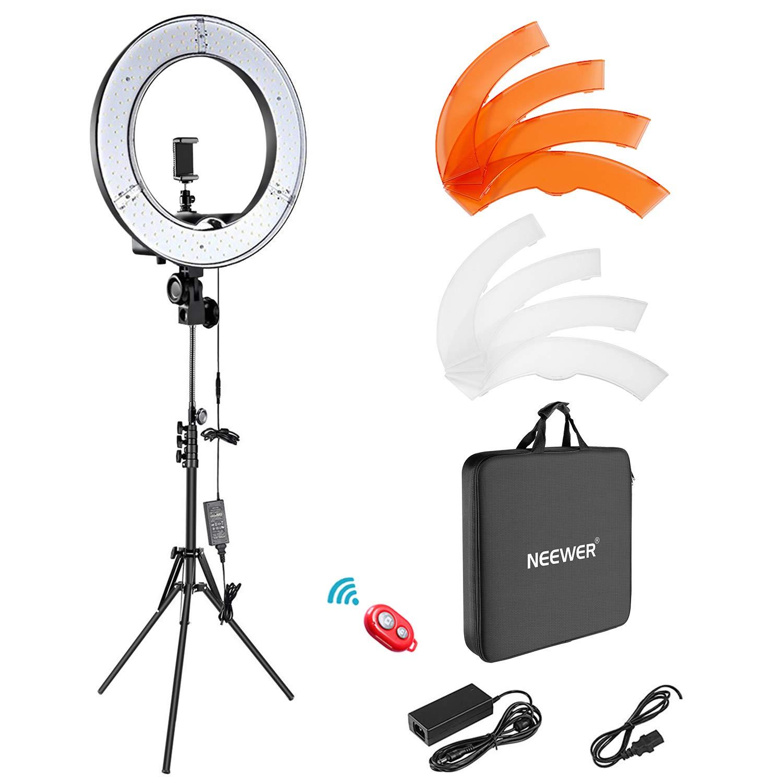 """Neewer 18"""" LED Ring Light Full Kit - $52.00 + FSSS"""
