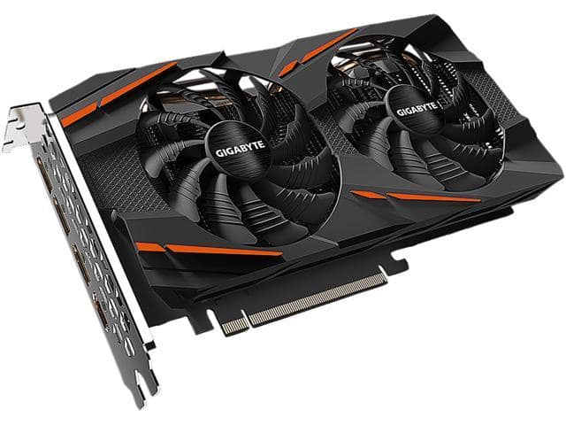 GIGABYTE Radeon RX 570 DirectX 12 GV-RX570GAMING-4GD Video Card for $119.99 AC + FS