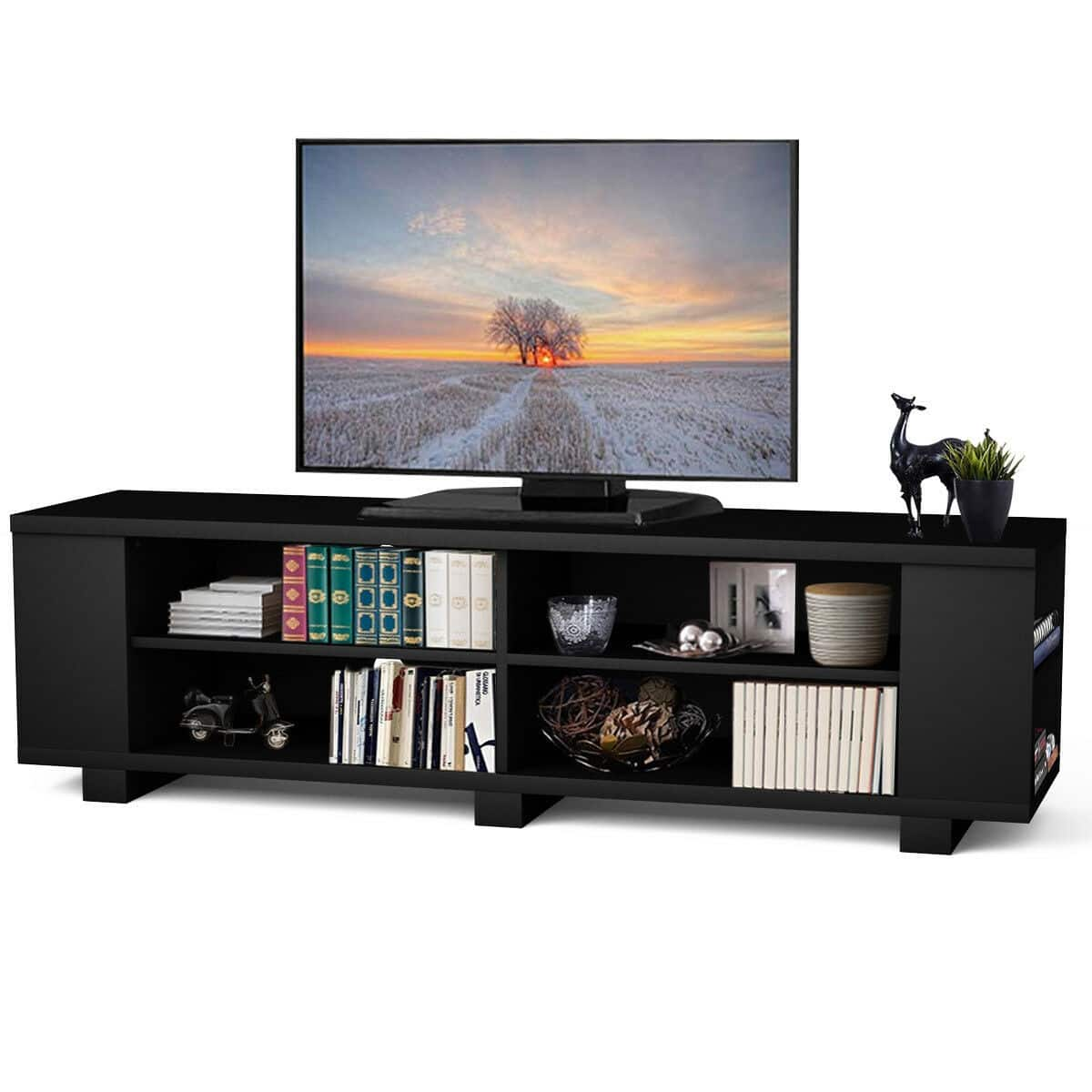 """Costway 59"""" Console Storage Entertainment Media Wood TV Stand-$104.95 + Free Shipping"""
