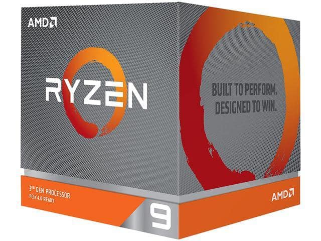 AMD RYZEN 9 3900X 12-Core 3.8 GHz 00-100000023BOX Desktop Processor $489.99 AC + FS