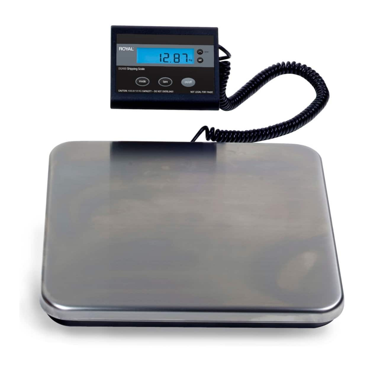 Royal Consumer DG200 Electronic Shipping Scale (200 lb Capacity) for $29.99 + FS